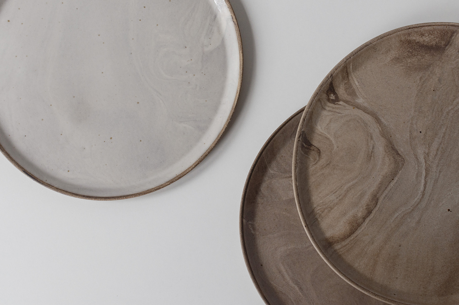 3-week Marbled Nestling Plates Workshop     Tuesday 6:30pm-9pm, 10th March-24th March
